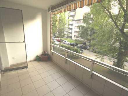 Endlich eine Ruhige... mit großem Balkon