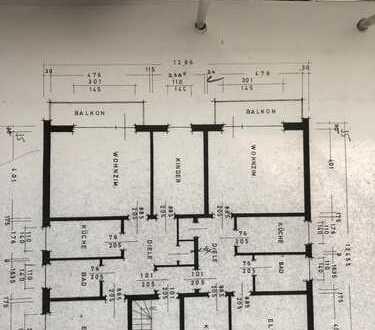 Stadtnahe 3-Zimmer-Wohnung mit Balkon in Oldenburg