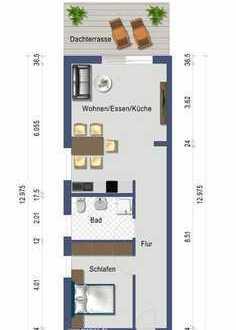 Neubau klimatisierte 2 Zi. Wohnung im KfW 55 Haus