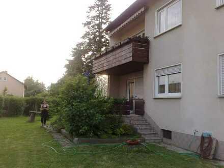 ++ 4 Zi.- Wohnung mit Balkon und Garten zu vermieten ++