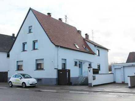Kandel: 4ZKB EG-Wohnung mit Garage und eigenem Garten