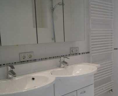 3 ZKB-DG-Wohnung in Augsburg-Pfersee !! Tolles Badezimmer !! Südbalkon !!