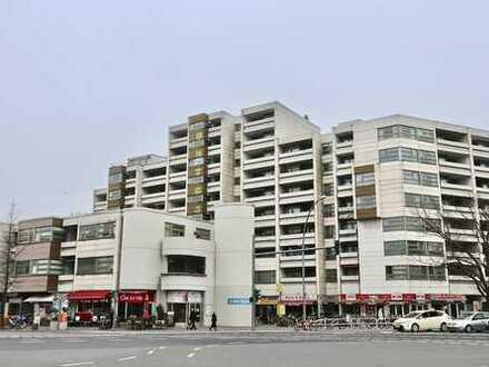 Citylage, sonnig, saniert, bildhübsche 2 Zimmer, 7. Og, Aufzug, Stellplatz ! Weitblick !