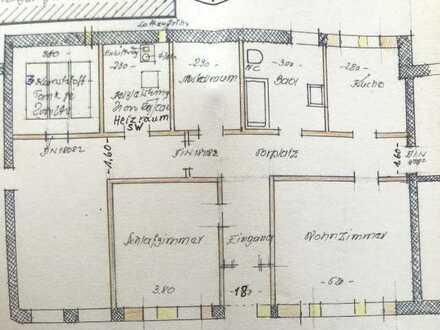 Behindertengerechte 2,5-Zimmer-Erdgeschosswohnung mit EBK in Bopfingen