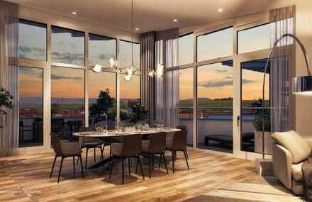 Neuer Grundriss! Master Bedroom, begehbarer Kleiderschrank, große Dachterrasse