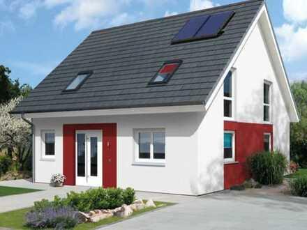 Wunderschöne Doppelhaushälfte technikfertig mit Bodenplatte
