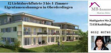 Nur noch eine Wohnung frei!!! Wohnen in herrlicher Lage in Oberderdingen