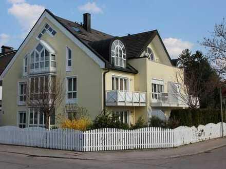 Repräsentative DG-Galerie–Wohnung in moderner Stadtvilla in Toplage Waldtrudering WF 187m² NF 220 m²