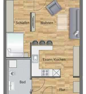 Attraktive 1-Zimmer Neubauwohnung
