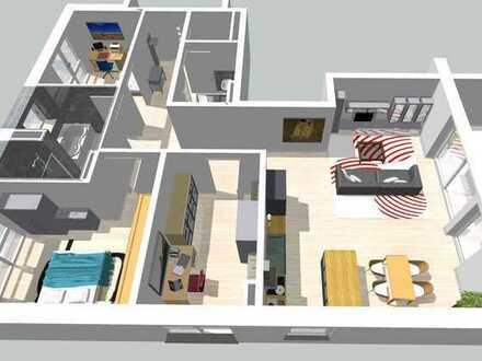 Südwest ausgerichtete 4-Zimmerwohnung