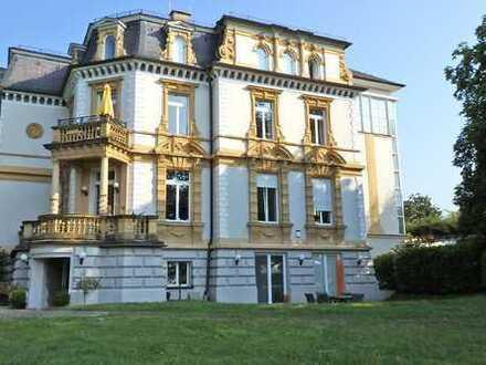 In Rheinnähe: Villa Belvedére (auch Wohnen mit Firma möglich)