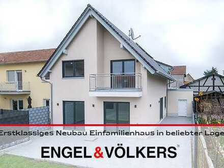 Erstklassiges Neubau Einfamilienhaus in beliebter Lage!