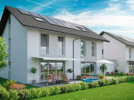 Provisionsfrei - Neubau DHH (1.1) mit Carport und Aussenstellplatz