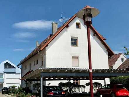 Gepflegte 2-Zimmer-DG WHG mit überdachtem Balkon in Bad Saulgau