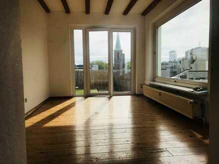 Penthouse:Wohnen über den Dächern von Bochum ! Offen gestaltete Wohnung im modernen Landhaus-Stil.