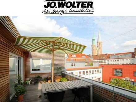 Penthouse mit Dachterrasse! Stellplatz opt.!