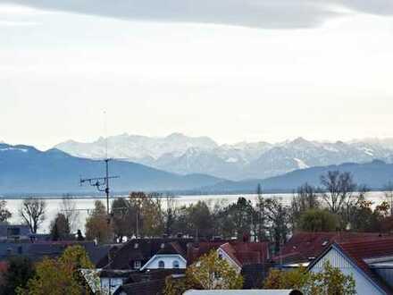 See und Bergblick Dachgeschoss-Wohnung Wasserburg