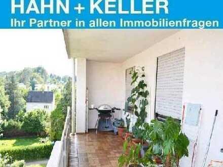 Genießen Sie den herrlichen Balkon inmitten der Stadt Biberach!