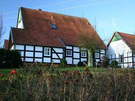 Fachwerkhaus für eine Familie im Grünen