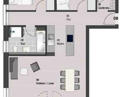 3-Zimmer-Eigentumswohnung mit ca. 85 m²