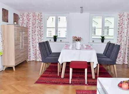 Stilvolle, sanierte 3-Zimmer-Wohnung mit EBK in Landshut