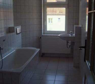 2-Raum-Wohnung in der Stadt mit Gartennutzung.