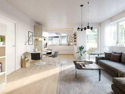 moderne & geräumige 2-Zimmer-Wohnung in zentraler Lage in Burgkirchen