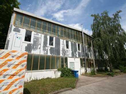 Lagerhalle in Berlin-Weißensee