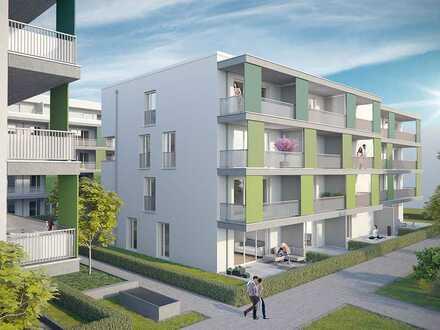 Attraktive 4-Zimmer-Maisonette mit Tageslichtbad und 2 Süd-Balkonen nahe historischen Stadtkern
