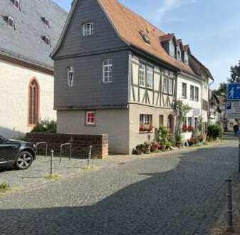Schmuckstück in der Steinheimer Altstadt: Kleines, vermietetes, wunderschönes Fachwerkhaus