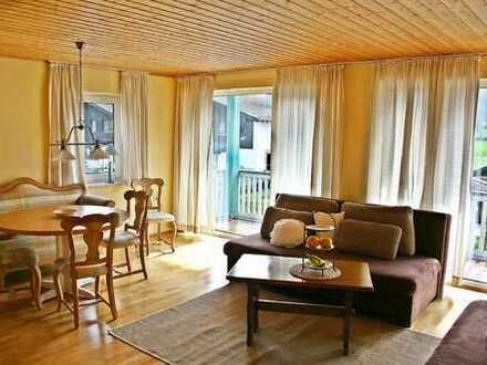 Helle Wohnung mit Bergblick in Aschau