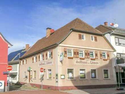 Gaststätte im Stadtzentrum von Kuppenheim
