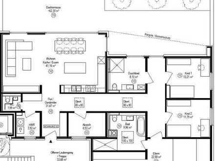 Neubau/ 5-Zimmer-Penthouse-Wohnung mit Dachterrasse in Illingen