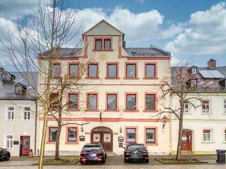 Gaststätte mit Fremdenzimmer im Stadtkern von Lichtenberg