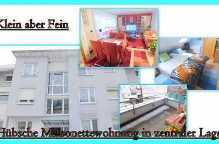 **Klein aber Fein** Hübsche 3-Zimmer-Maisonettewohnung in zentraler Lage von Urbach