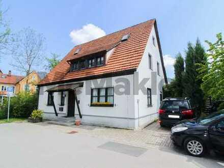 Wohn- und Geschäftshaus neben bekannter Klinik auf Pegnitzinsel