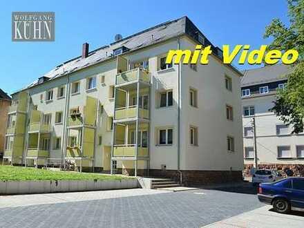 Schöne 2-Raumwohnung in der Oberstadt mit Balkon und Stellplatz