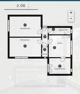 741 €, 60 m², 2,5 Zimmer