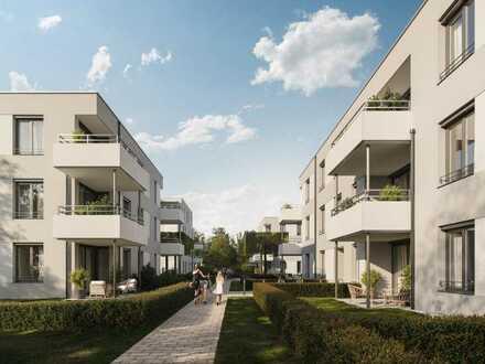 Wohnen und wohlfühlen: offene und helle 3-Zimmer-Wohnung mit Balkon - WE322