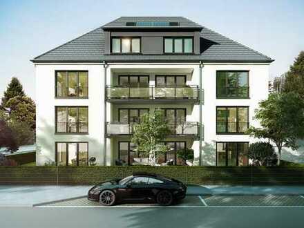 Neubau - moderne EG-Wohnung mit eigenem Garten in Nymphenburg