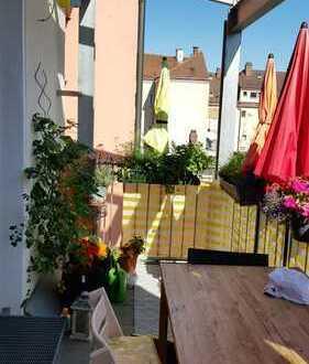 4-Zimmer-Wohnung mit Balkon, zentral gelegen