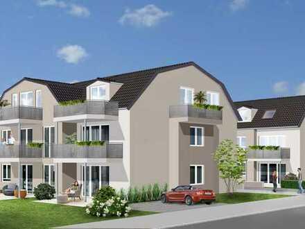 Wohnensemble Josef-Bergmann-Weg 1 in Olching: 4-Zimmer EG Wohnung mit Süd-West-Terrasse und Garten