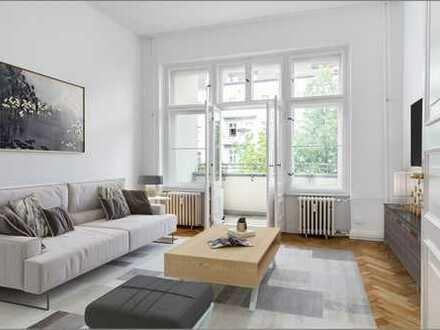 """""""Freie große und helle Altbauwohnung im Westfälischen Viertel mit Balkon"""""""