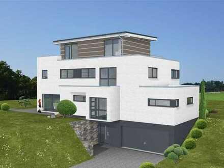 Villa mit Penthouse