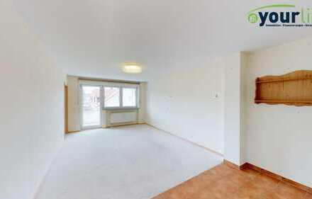 Barrierefreier Zugang zur Wohnung! Helle 4-Zimmer-Wohnung in 87616 Marktoberdorf