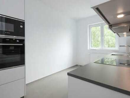 Bild_Umfassend modernisierte Wohnung mit Einbauküche und Parkett