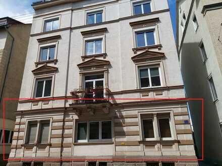 Zentrumsnahe 2-Zimmer Eigentumswohnung (55 qm²) in Stuttgart Rotebühl!