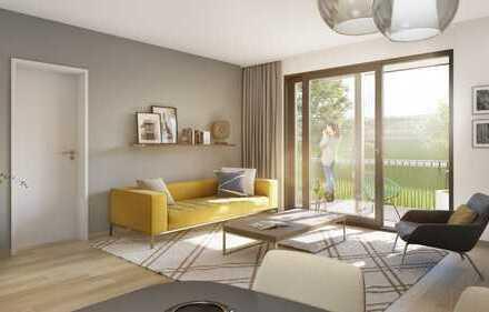 PANDION 9 FREUNDE - 2-Zimmer-Gartenwohnung mit großer Terrasse