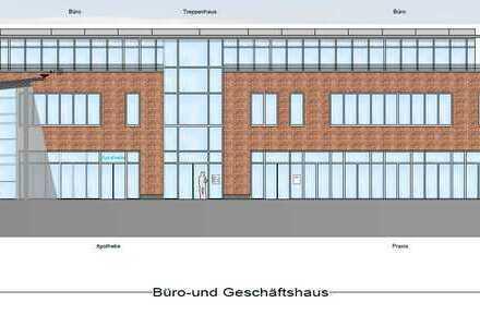 Zentrale Praxis- und Büroflächen im zukünftigen Nahversorgungszentrum Schönkirchen
