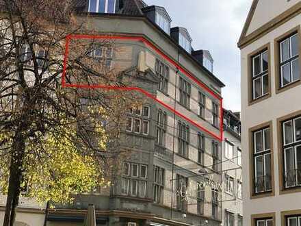 4 ZKB-Whg. mit Balkon im Herzen der Bielefelder Altstadt! (Alter Markt)
